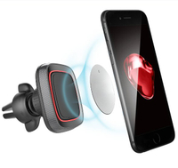 APPS2Car new 360° Airframe Universal Smart Mobile Phone Magnetic Car Mount Holder