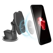 Magnetic Wireless Charger Car Mount, APPS2Car 10W Max. Fast Qi Wireless Car Phone Holder for Samsung Galaxy S9 S9 Plus S8 S7/S7