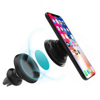 Pop Socket Portable Car Air Vent Phone Mount Holder