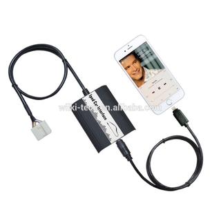 Iphone Bluetooth Car Usb Mp3 Player Adapter on Car Stereo